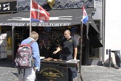 зажженное мясо Стоковое фото RF