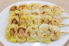 Зажженные бананы Стоковая Фотография