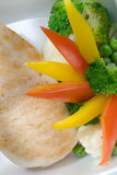 зажженные выкружкой овощи туны Стоковые Фото