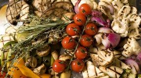 зажженные овощи Стоковое Изображение