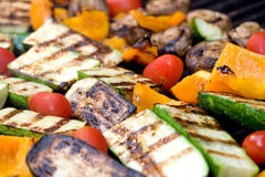 зажженные овощи стоковое изображение rf
