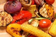 зажженные овощи Стоковые Фотографии RF