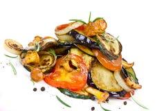 зажженные овощи Стоковое фото RF
