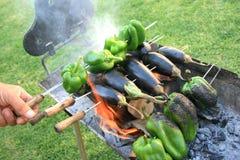 зажженные овощи Стоковое Фото