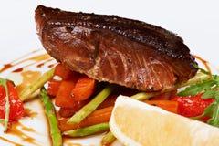 зажженные рыбы стоковые изображения rf