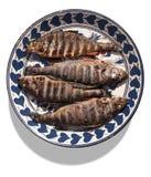 зажженные рыбы Стоковая Фотография