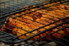 зажженные стейки Стоковая Фотография RF