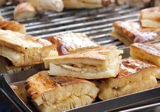зажженный батат помадки соуса стоковое изображение rf