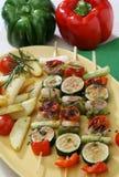 зажженный овощ Стоковые Фото