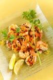 зажженный салат креветки вкусный Стоковые Фотографии RF