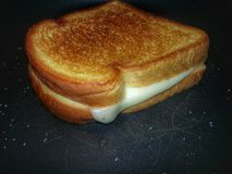 Зажженный сандвич сыра Стоковые Изображения RF