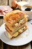Зажженный сандвич сыра Стоковое Изображение