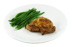 зажженный цыпленок Стоковая Фотография RF