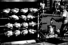 зажженный цыпленок Стоковые Фотографии RF