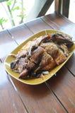 зажженный цыпленок bbq Стоковое фото RF