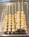 Зажженный шарик еды Стоковое фото RF