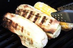 Зажженный BBQ сладостной мозоли Стоковая Фотография