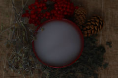 Заживление травы, divination Стоковое Фото