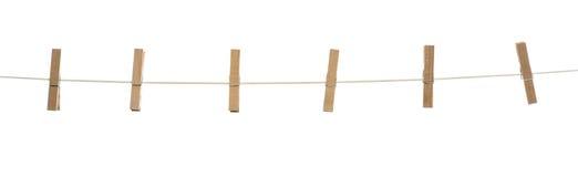Зажимки для белья Стоковое фото RF