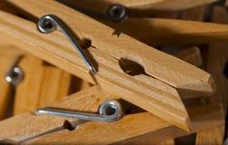 зажимки для белья Стоковая Фотография RF