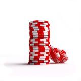 зажимы играя в азартные игры Стоковое Фото