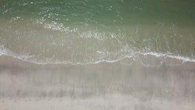 Зажим вида с воздуха моря Взгляд сверху, изумительная предпосылка природы сток-видео