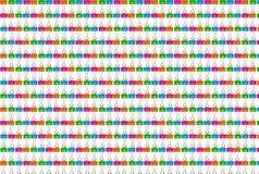 Зажим, цвет предпосылки Стоковая Фотография RF