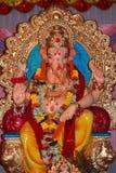 зажиточность лорда бога ganesh индийская стоковое фото rf