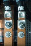 заземленные кабели Стоковая Фотография RF