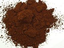 заземленный кофе стоковое изображение
