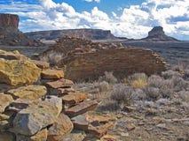 Зазор Fajada на национальном парке каньона Chaco стоковое изображение rf