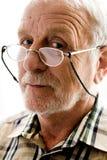 заинтересованный человек более старый очень Стоковая Фотография RF