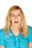 Заинтригованная женщина Стоковые Фото