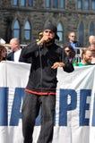 Займите годовщину протеста в Оттава Стоковые Фотографии RF