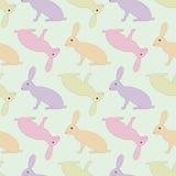 зайцы делают по образцу безшовное Стоковое Изображение