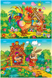 зайцы лисицы крана Стоковые Изображения RF