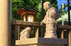 Зайцы Inaba и Ookuninushi Стоковое Изображение