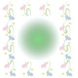 зайчики младенца пастельные Стоковое фото RF