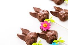 Зайчики шоколада Стоковая Фотография