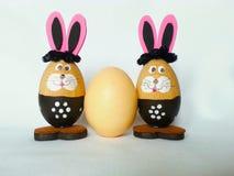 Зайчик пасхального яйца стоковые фотографии rf