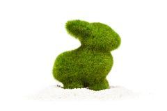 Зайчик пасхи сделанный искусственной травы Стоковая Фотография