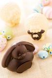 Зайчик шоколада Стоковые Фотографии RF
