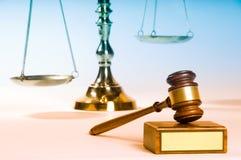 заказ закона Стоковое Изображение