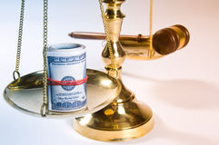заказ закона Стоковое фото RF