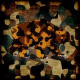 Закамуфлированный медведь Стоковая Фотография RF
