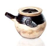 Закалённая китайская фитотерапия Claypot Стоковая Фотография RF
