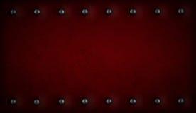 заклепки красного цвета предпосылки пурпуровые Стоковые Изображения RF