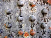 заклепки металла заржавели Стоковые Фото