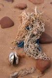 заключения пляжа стоковые фотографии rf