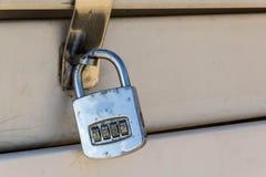 закодируйте padlock Стоковые Изображения RF